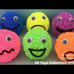Playfoam Happy Smiley Face Surprise Toys Mickey Mouse Finding Dory Disney Princess Winnie the Pooh