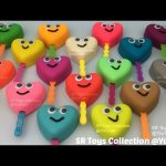 Play Doh Hearts Lollipops Smiley Face with Elmo Big Bird and Friends Molds Fun Creative for Kids