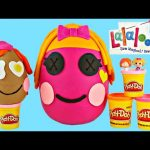 HUGE Lalaloopsy Surprise Eggs ★ Building Play Doh Toy Giant Egg Surprises! Enormes Huevos Sorpresa