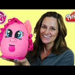 SUPER SURPRISE EGG Pinkie Pie Play Doh My Little Pony Huevo Sorpresa DCTC Toy Episodes