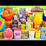 Play Doh Surprise Eggs BFFS Kingdom Hearts Disney Vinylmations DCTC Toys Playdough EGG Videos