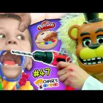 Chases Corner: SCARY DENTIST + GIANT CANDY! PLAYDOH FNAF DOCTOR DRILL n FILL TEETH (#47) Feisty Pets