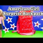 AMERICAN GIRL Surprise Backpack the American Girl Grace Rebecca Caroline Surprise Egg Video