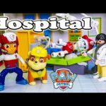 PAW PATROL Nickelodeon  Marshal in the Hospital  Toys Video Parody