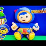 TEAM UMIZOOMI Nickelodeon Team Umizoomi Geo Mathmatical Plush Team Umizoomi Vido Touy Review