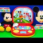 MICKEY MOUSE CLUBHOUSE Disney Laptop a Mickey Mouse  Toys Video