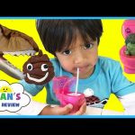 DRINKING FROM A TOILET! DIY Candy HULK POOP SURPRISE EGG Kinder Toy Prank Pet Dinosaur eat Play Doh
