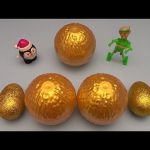 Kinder Surprise Egg Learn-A-Word! Spelling Holiday Words!  Lesson 13