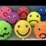 Play Foam Surprise Smiley Face Paw Patrol Disney Frozen Marvel Avengers Shopkins Peppa Pig TMNT Eggs