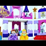 Princess Sofia The First Royal Lego Castle Disney Duplo Preschool Building Toys Princesa Castillo