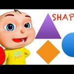 Five Little Babies Learning Shapes | Kids Songs | Baby Rhymes & Preschool Videos