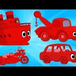 Vehicle Compilation For Kids With Morphle!