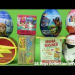 Surprise Toys Num Noms Justice League My Mini MixieQ's Shopkins Paw Patrol MLP Kinder Star Wars Eggs