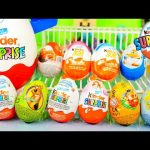 Kinder Surprise Eggs Opening Scooby Doo Disney Cars Planes Kinder Joy Egg Toys DCTC Videos