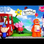 Play Doh Ben & Holly's Delivery Truck Peppa Pig Wise Elf Playdough Ice Cream DCTC Toy Episodes