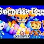 OCTONAUTS Disney Octonauts Surprise Eggs a Disney Surprise Eggs Toys Video