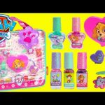 Paw Patrol Skye Pup Power Beauty Set with Lip Glosses Nail Polishes and Surprises