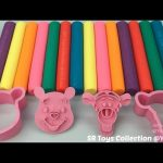 Glitter Playdough Modelling Clay with Winnie the Pooh Molds Fun and Creative for Children