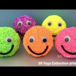 Playfoam Smiley Face Surprise Eggs Pokemon Scyther Pikachu Twozies Peppa Pig Toys