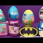 Surprise Toy Twozies The Zelfs Batman Captain America Peppa Pig Finding Dory Star Wars Surprise Eggs