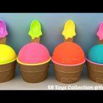 Play Doh Ice Cream Surprise Toys My Mini Mixie Q's The Zelfs My Little Pony Marvel Avengers Mashems