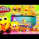 Play Doh Spongebob Squarepants Toys Super Unboxing Color Changing Car Playdough Egg Surprise DCTC