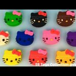 Learn Colours with Play Doh Hello Kitty with Fruits Molds Fun and Creative for Everyone