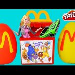 HAPPY MEAL Surprise Eggs McDonald's Toy Play Doh Egg Barbie Hot Wheels Cars Bratz Huevos Sorpresa