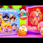 Sailor Moon Full Case Unboxing Toys Kinder Joy Surprise Eggs Opening DCTC Disney Cars Toy Club
