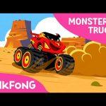 I'm a Monster Truck | Monster Trucks | Pinkfong Songs for Children