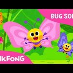 Flitter-Flutter Butterflies | Bug Songs | Pinkfong Songs for Children