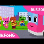 The Wheels on the Pink School Bus | Bus Songs | Car Songs | Pinkfong Songs for Children
