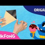 Ice cream | Pinkfong Origami | Pinkfong Songs for Children