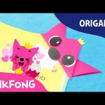PINKING Bookmark | Hello Pinkfong With Origami | PINKFONG Origami | PINKFONG Songs for Children