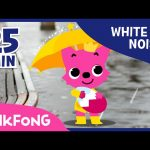 Rain Sound With PINKFONG | How To Sleep Better | White Noise | PINKFONG Songs for Children