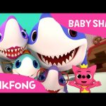 Baby Shark | Shark Family & Photographer Mr. Octopus | Animal Songs | PINKFONG Songs for Children