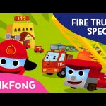 Fire Truck SPECIAL | Car Songs & Stories & Mini Games | + Compilation | PINKFONG Songs for Children