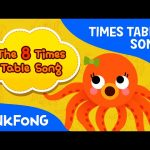 The 8 Times Table Song | Count by 8s | Times Tables Songs | PINKFONG Songs for Children