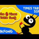 The 6 Times Table Song | Count by 6s | Times Tables Songs | PINKFONG Songs for Children
