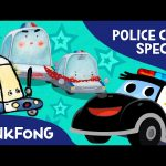 Police Car SPECIAL | Car Songs & Stories & Mini Games | + Compilation | PINKFONG Songs for Children
