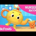 I'm a Little Teapot | Sing and Dance! | Nursery Rhymes | PINKFONG Songs for Children