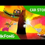 House of Monkeys on Fire   Car Stories   PINKFONG Story Time for Children