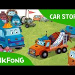 Competition in Mixie Land | Car Stories | PINKFONG Story Time for Children
