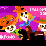 Three Scarecrows | Halloween Songs | PINKFONG Songs for Children