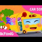Bus Song | The Wheels on the Bus | Car Songs | PINKFONG Songs for Children
