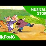 The Great Big Turnip   Fairy Tales   Musical   PINKFONG Story Time for Children