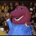 Barney in the 1998 Macy's Thanksgiving Day Parade