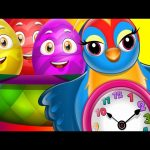 Surprise Eggs Nursery Rhymes Toys | Hickory Dickory Dock | Learn Colours | ChuChu TV