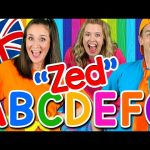 Alphabet Song – ABC Song UK ZED Version! Learn the Alphabet, British English ABC Songs