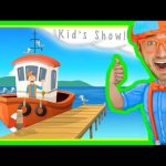 Boats for Kids | Blippi Nursery Rhyme – The Boat Song